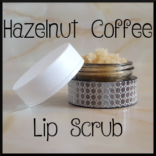 Hazelnut Coffee Lip Scrub